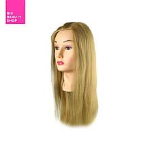 Учебная голова Sibel, блонд 35-45 см, без штатива