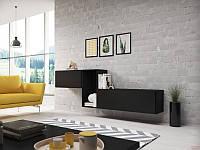 Вітальня ROCO 11 чорний (модульні меблі)(Cama)