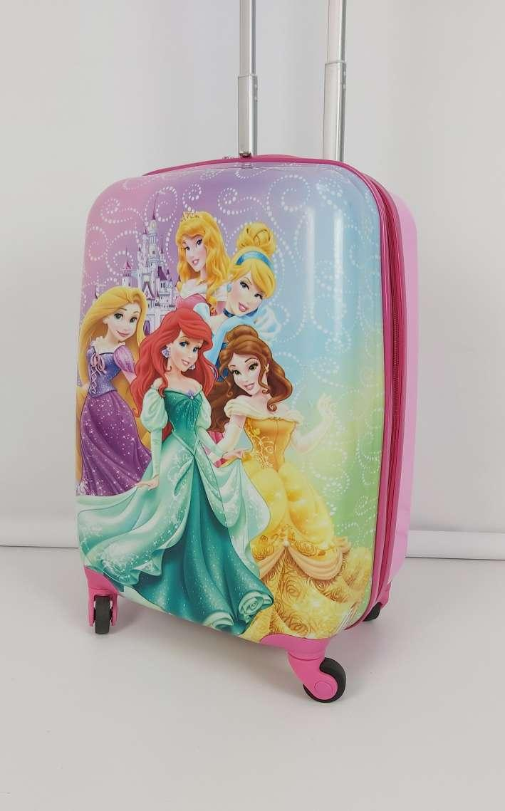 Чемодан на колесиках для девочки с принцессами Disney