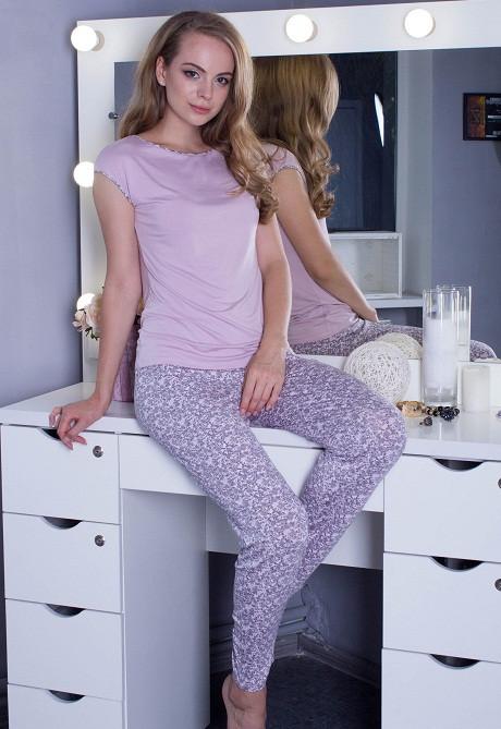 Женская пижама Турецкий трикотаж