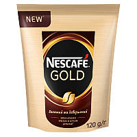 Кава розчинна Nescafe Gold м'яка упаковка 120г
