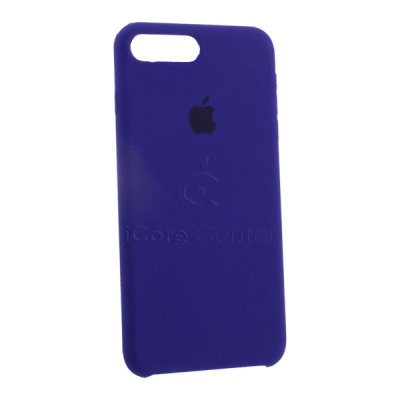 Чохол-накладка силіконовий Silicone Case для iPhone 7 Plus / 8 Plus (5.5) Ultra Violet (Ультрафіолет)