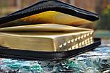 Библия средний формат, кожаная, фото 9