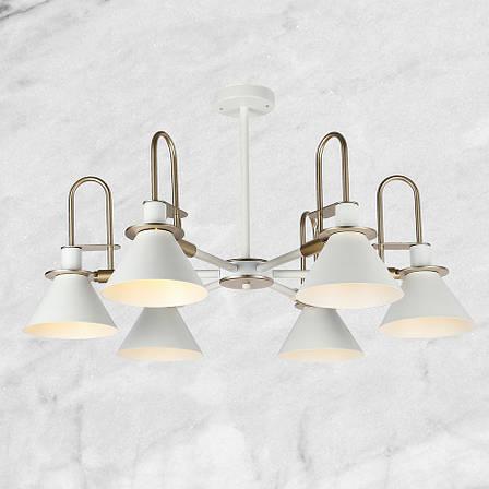Люстра в современном исполнении на 6 ламп, фото 2