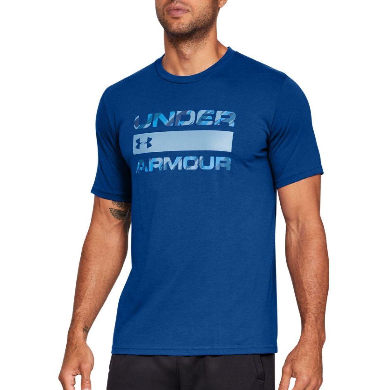 Мужская спортивная футболка Under Armour Team Issue Wordmark