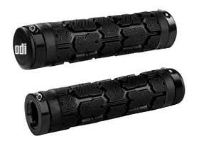 Грипсы ODI Rogue  MTB Lock-On 130mm Bonus Pack Black w/Black Clamps (черные с черными замками)