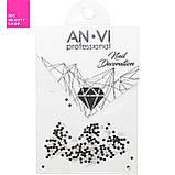 Камни Сваровски ANVI PIXI №4 черные 200 шт, фото 3