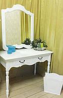 Білий туалетний столик Прованс