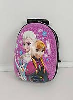 Удобный пластиковый рюкзак для девочек с Эльзой и Анной