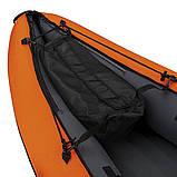 Двухместная надувная байдарка (каяк) Bestway 65052 Ventura Kayak, 330 х 94 см, с веслами и насосом, фото 6