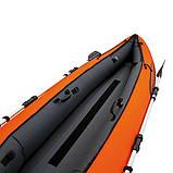Двухместная надувная байдарка (каяк) Bestway 65052 Ventura Kayak, 330 х 94 см, с веслами и насосом, фото 9