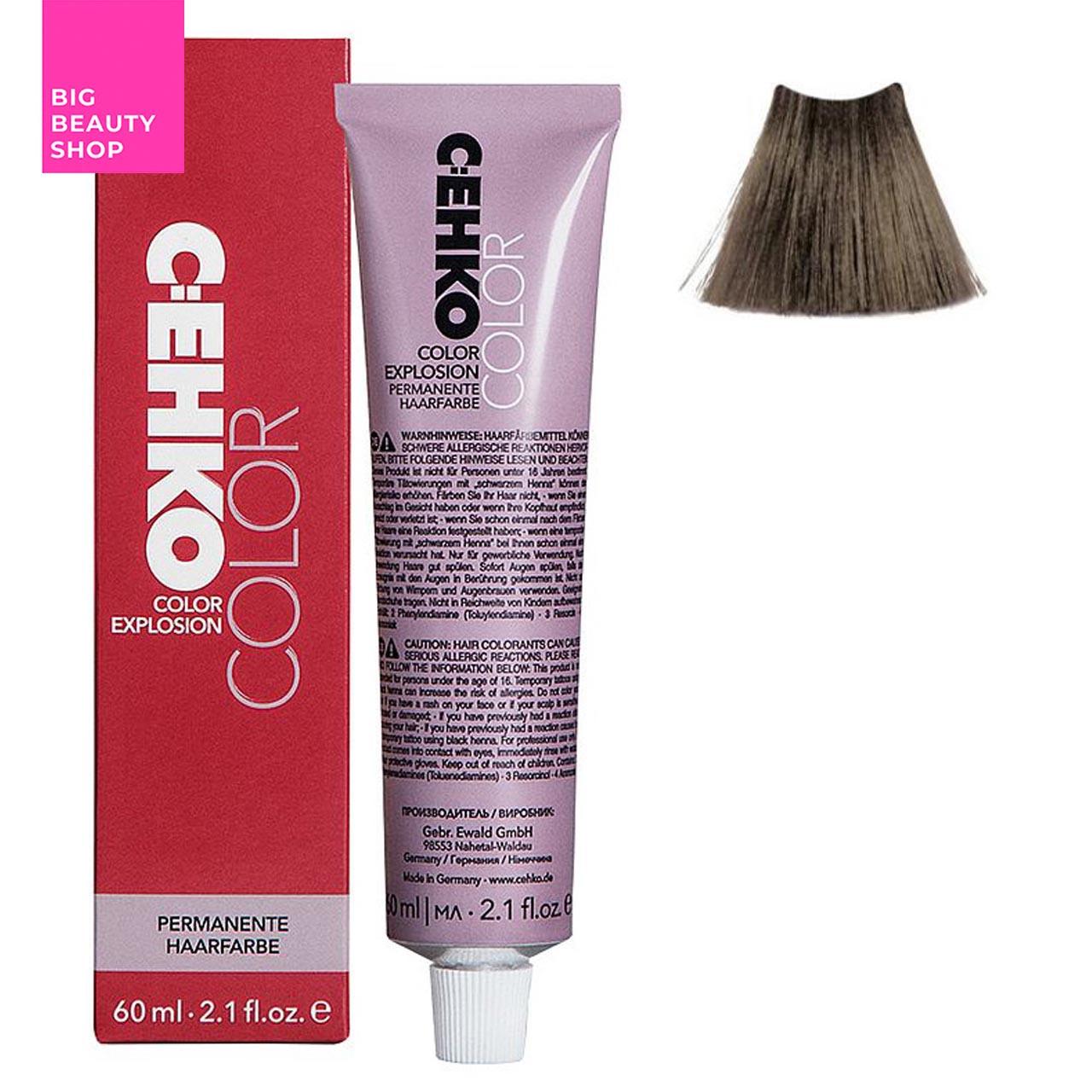 Крем-краска для волос C:EHKO Color Explosion №6/32 Золотистый пепельный блонд 60 мл