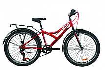 """Велосипед детский с багажником 24"""" Discovery Flint MC 2020 стальная рама 14"""", фото 3"""