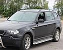 Бічні Пороги (підніжки-майданчик) BMW X3 2003-2010 (Ø51), фото 2