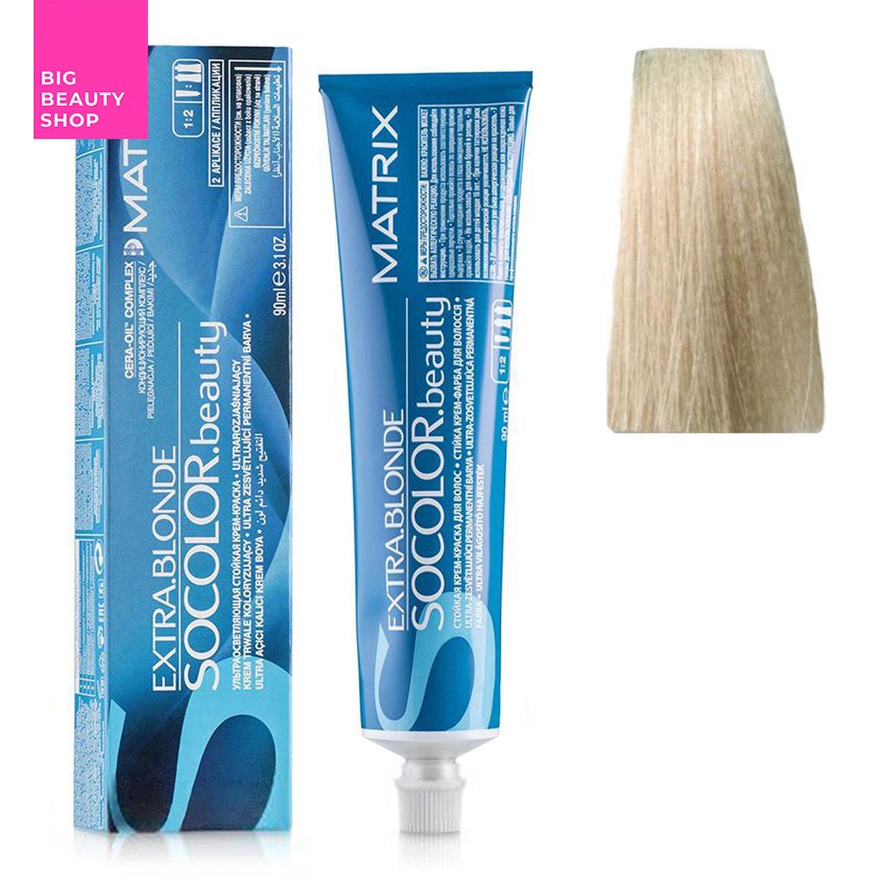 Крем-краска для волос Matrix Socolor Beauty №11A  Ультра светлый блондин пепельный 90 мл