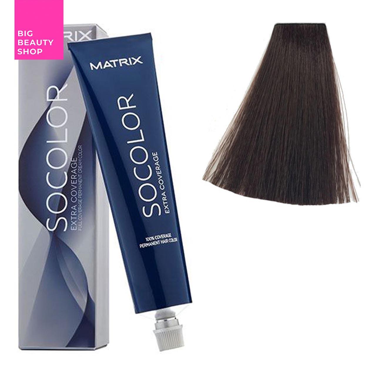 Крем-краска для волос Matrix Socolor Beauty №504N Шатен мокко 90 мл