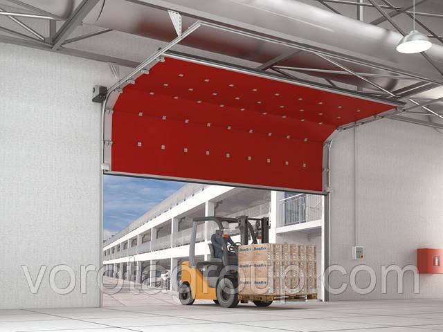 Гаражные секционные ворота с высоким, вертикальным и наклонными типами подъема