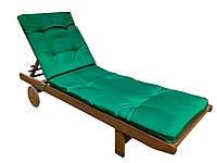 Матрас на шезлонг  200x60x5 см  Зеленый   (2001)