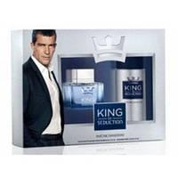 Наборы для мужчин Antonio Banderas набор King of Seduction  (edt 100ml+deo 150ml)  оригинал
