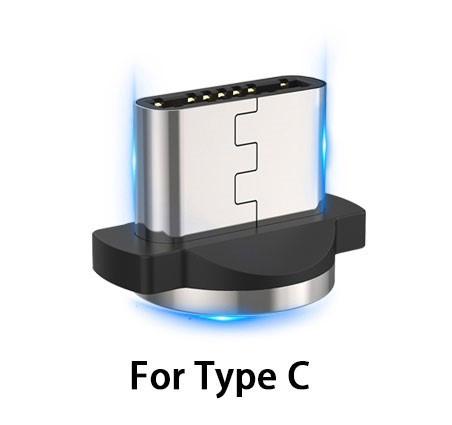 Магнитный коннектор для магнитного кабеля для зарядки телефона USLION магнитный разъем Type-C (тайп си)