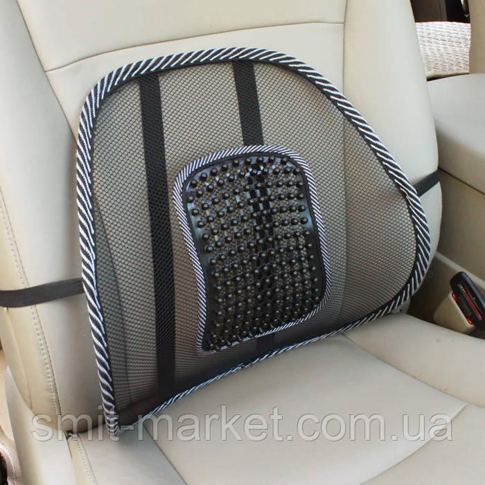 Ортопедическая подушка под спину в машину