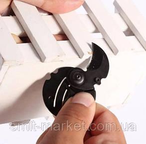 Нож в виде монеты для EDC набора в виде брелка для ключей, Черный, фото 2