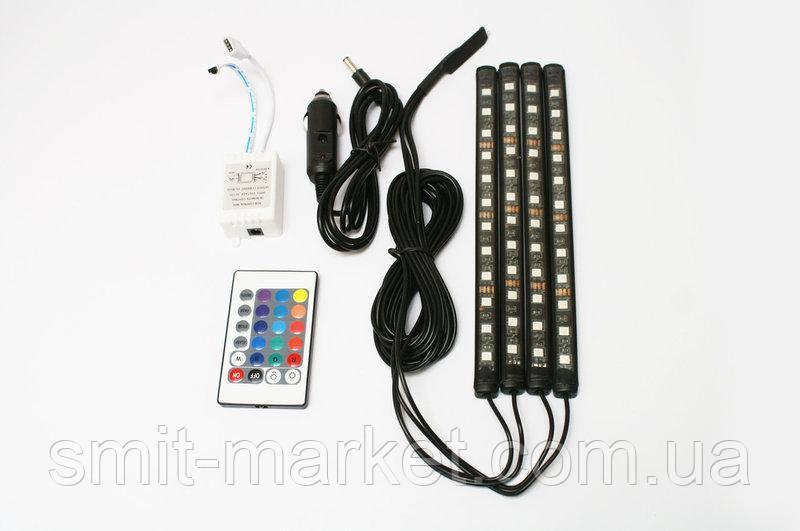 Подсветка для авто с функцией светомузыки