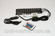 Подсветка для авто с функцией светомузыки, фото 2