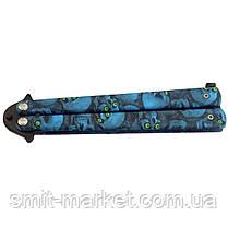 Тренировочный нож-бабочка из нержавеющей стали, фото 2