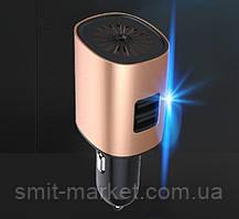 Автомобильный увлажнитель-очиститель воздуха 12V с USB зарядкой, фото 3