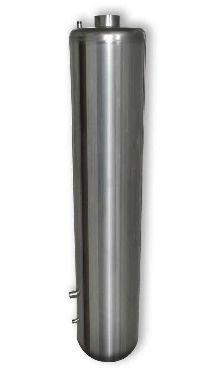 Бак из нержавейки для водонагревателя на твердом топливе 80 литров