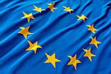 """Флаг """"Евросоюз"""" с палочкой и присоской (маленький) 15х9 см, фото 2"""