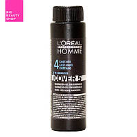 Камуфляж L'Oreal Professionnel шатен Homme Cover 5 (4), 3*50 мл