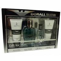 Наборы для мужчин Dorall Collection Islanders set (edt 15ml + 100ml + гель для душа 50ml + бальзам 50ml) мужской  оригинал