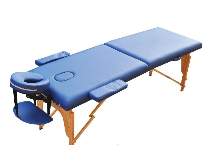Масажний стіл з вирізом під особа ZENET ZET-1042 NAVY BLUE розмір S (180*60*61)