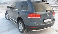 Защита заднего бампера (труба) Volkswagen Touareg