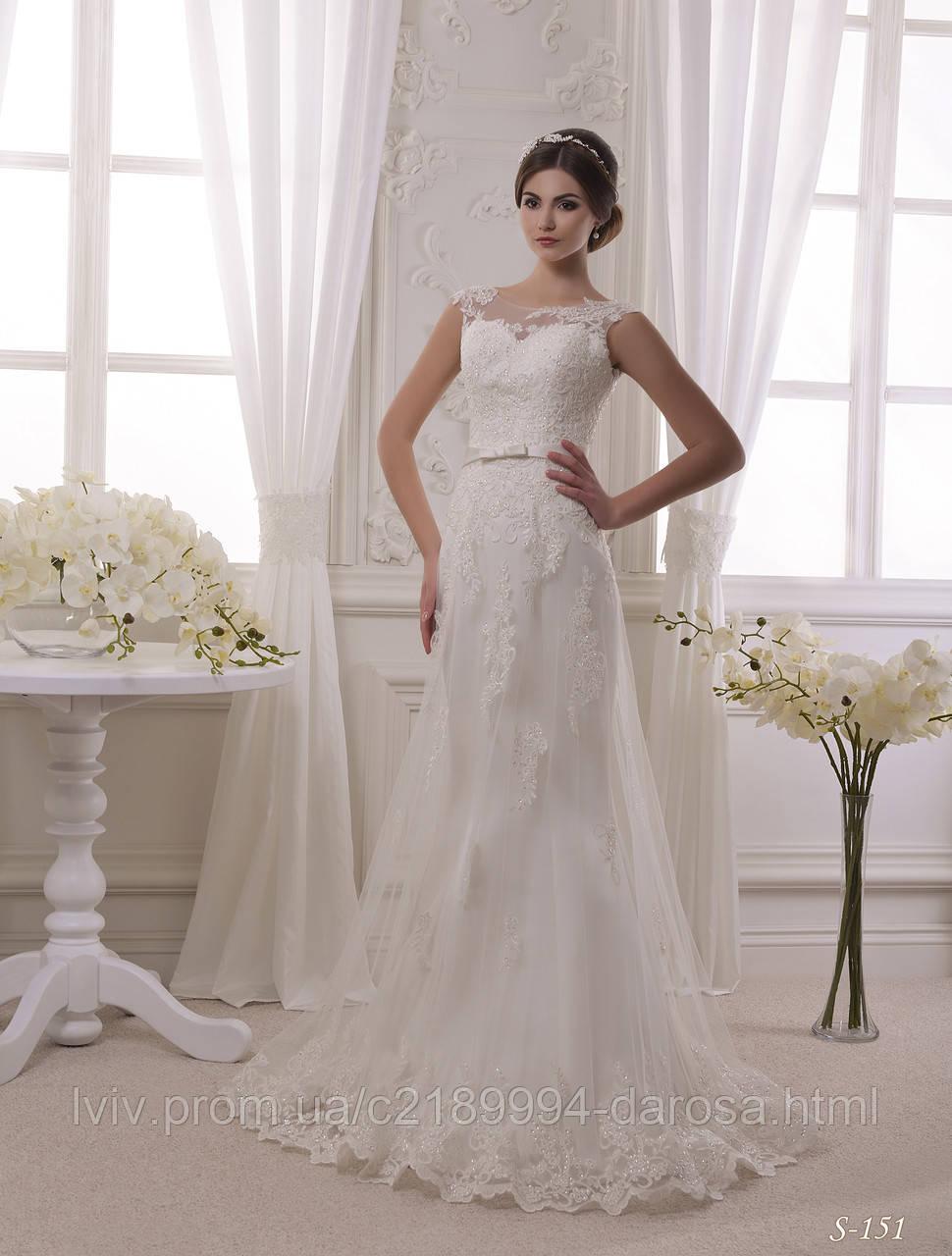 Свадебные платья с накладной юбкой