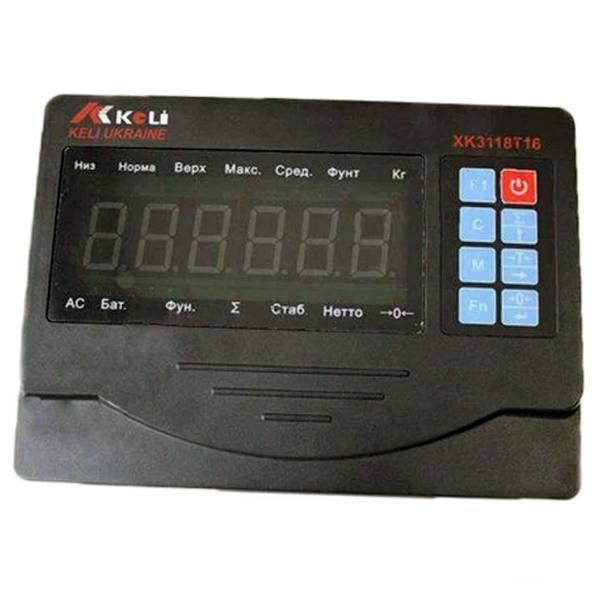 Весовой индикатор Keli XK3118T16 (black)
