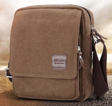 Мужская кожаная сумка. Модель 61256