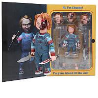 ФигуркаNeca Чаки Детские Игры Childs Play Ultimate Chucky 10 см Movies Chucky Neca