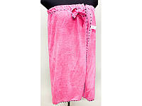 Полотенце для сауны на резинке микрофибра ( платье полотенце).