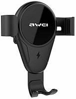 Автодержатель AWEI CW3 Wireless Car Holder Black #I/S