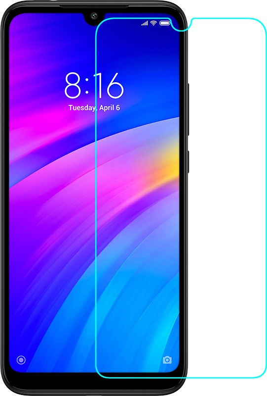 Защитное стекло TOTO Hardness Tempered Glass 0.33mm 2.5D 9H Xiaomi Redmi 7/Y3 #I/S
