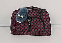 Удобная дорожная сумка для женщин разных цветов 33х50х20 см
