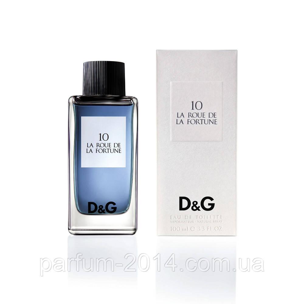 Женская туалетная вода Dolce & Gabbana 10 la roue de la fortune (реплика)