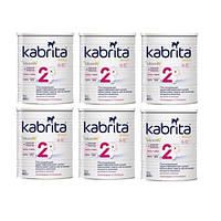 Молочная смесь Kabrita (Кабрита) 2 Gold на козьем молоке (6-12 мес), 6X800гр. (6 шт.)