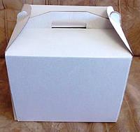 """Коробка самосборная для торта """"высокая""""45*45*45(код 01462)"""