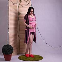 Комплект халат с пижамой Лейсли-1 42-44, 46-48, 50-52, 54-56
