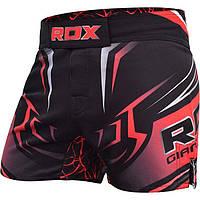Шорты MMA RDX R8 Red L красный