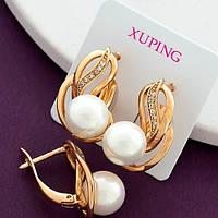Серьги из медицинского золота Xuping